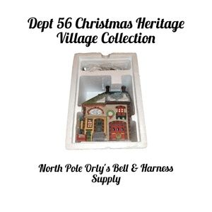 Dept 56 Christmas Heritage North Pole Orly's Bell